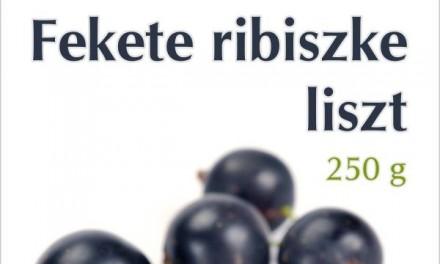 Fekete ribiszke liszt