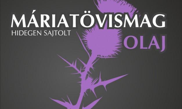 Máriatövismag-olaj