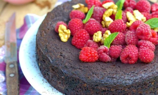 Diós, csokoládés sütemény