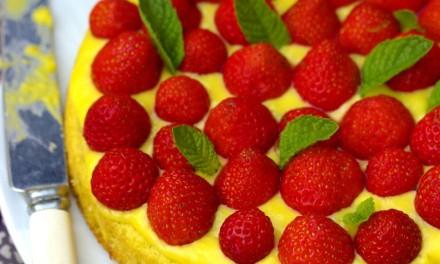 Epres, citromkrémes torta