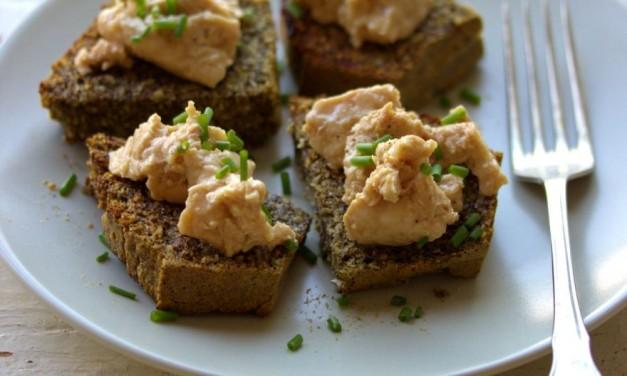 Fűszeres, hagymás kenyér