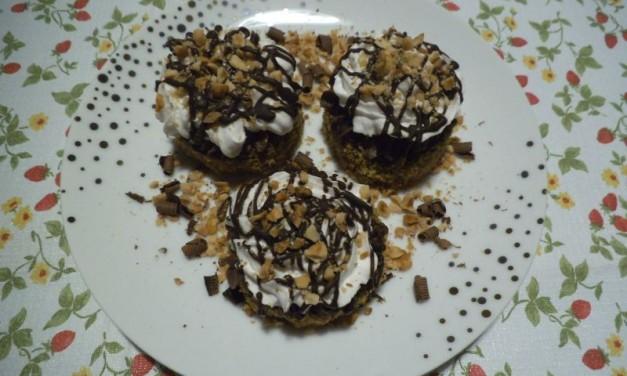 Mogyorós-csokoládés süti