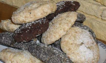 Mákos, mandulás, kókuszos, lenmagos, csokis kekszek