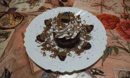 Meggyes-gesztenyés süti